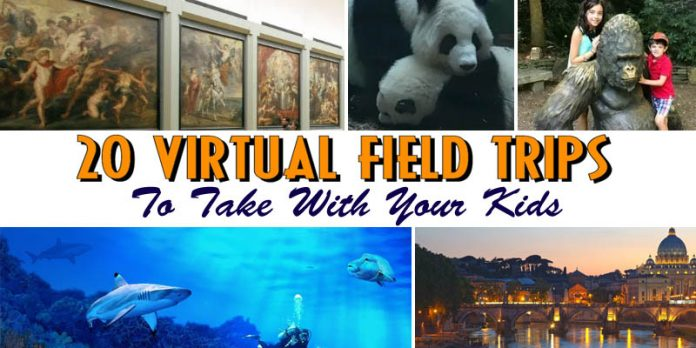 virtual field trips to take with your kids