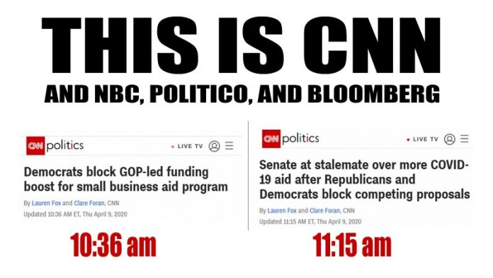 CNN, NBC, Bloomberg, Politico Are Repugnant Democrat Puppets