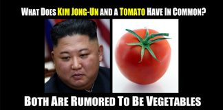 Kim Jong Un vegetable