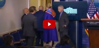 Second Time Fauci Gives Approval Signal To Journalist After Attacking President Trump