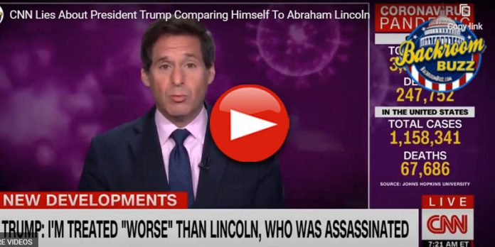 CNN Lies About Trump Comparing Himself To Lincoln