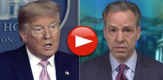 Jake Tapper and Donald Trump