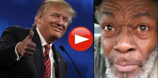 Watch Elderly Black Man Voting For Trump Says For 47-Years Biden's Done Nothing For The Black Man