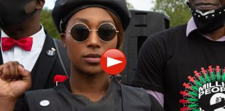 BLM UK activist Sasha Johnson Black Panther of Oxford