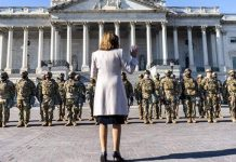 Not a word was spoken by Nancy Pelosi after DC Capitol Police ordered National Guard Troops out of the Capitol building