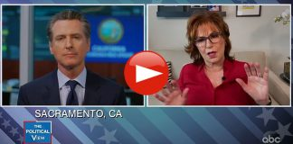 Gavin Newsom Admits on the View That the California Recall Has Him Worried