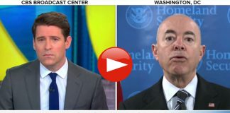 Homeland Security Secretary Alejandro Mayorkas Evades CBS Migrant Border Crisis Questions