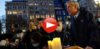 WATCH Pandering NYC Mayor de Blasio Heckled, Chased From Anti-Asian Hate Vigil