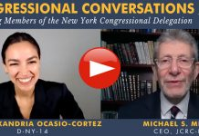 AOC, Alexandria Ocasio-Cortez, Rabbi Michael Miller, Jewish Community Relations Council of New York